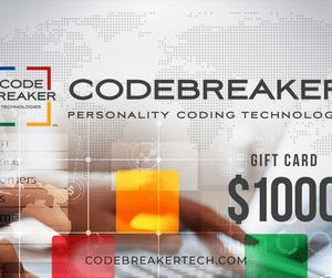Codebreaker Gift Card